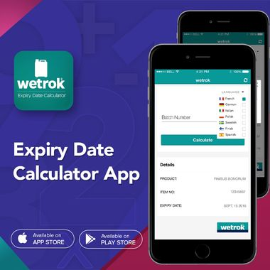 Expiry Date Calculator Application For IPhone & Android